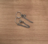 페퍼시즈닝(PEPPERSEASONING) UNBALANCE CHAIN EARRING 후기
