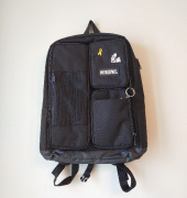 네이키드니스(NEIKIDNIS) MESH SQUARE BACKPACK / BLACK 후기