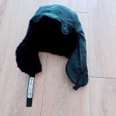 슬리피슬립(SLEEPYSLIP) [unisex]F/W REVERSIBLE SATIN TROOPER HAT BLACK 후기