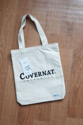 커버낫(COVERNAT) AUTHENTIC LOGO ECO BAG IVORY 후기