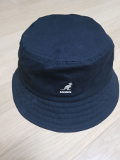 캉골(KANGOL) Washed Bucket 4224 BLACK 후기