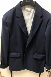 노앙(NOHANT) REAR-OPENING PROCESS JACKET NAVY 후기