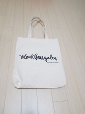 마크 곤잘레스(MARK GONZALES) M/G ECO BAG BLACK 후기