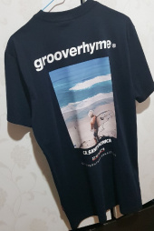 그루브라임(GROOVE RHYME) 2018 3 SURFING MAN T-SHIRTS 1 (BLACK) [GTS004G23BK] 후기