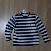 프룻오브더룸(FRUIT OF THE LOOM) L/S MIDDLE STRIPE T-SHIRTS BLACK 후기
