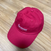 커버낫(COVERNAT) AUTHENTIC LOGO CURVE CAP RED 후기