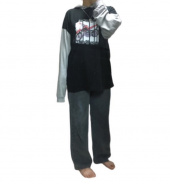 디스이즈네버댓(THISISNEVERTHAT) Motorcycle Hooded L/SL Top Black/Grey 후기