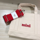 쓰리노크스(THREE KNOCKS) mini canvasbag 후기