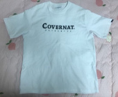 커버낫(COVERNAT) S/S AUTHENTIC LOGO TEE WHITE 후기