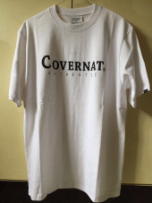 커버낫(COVERNAT) S/S AUTHENTIC LOGO TEE BLACK 후기