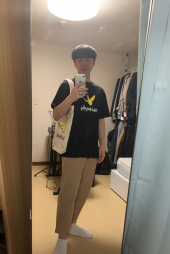 마크 곤잘레스(MARK GONZALES) M/G ANGEL LOGO T-SHIRTS NAVY 후기