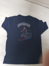 커버낫(COVERNAT) S/S SURFER MAN TEE NAVY 후기