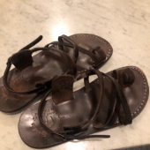 예루살렘 샌들(JERUSALEM SANDALS) NO.6 THE GOOD SHEPHERD (BUCKLED) BROWN 후기