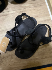 예루살렘 샌들(JERUSALEM SANDALS) NO.6 THE GOOD SHEPHERD (BUCKLED)_BLACK 후기