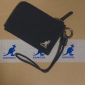 캉골(KANGOL) Black Card Holder Wide 4007 BLACK 후기
