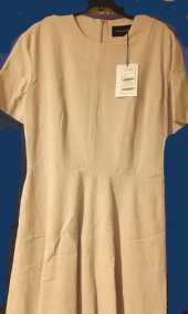 논로컬(NONLOCAL) [17th Re-stock] Linen Flared Dress - Beige 후기