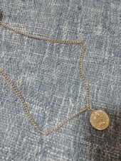모더먼트(MODERMENT) [Unisex]Coin Necklace 후기
