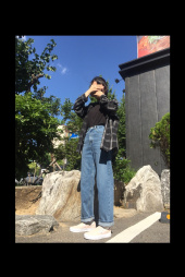 레이디 볼륨(LADY VOLUME) basic dinim pants 후기