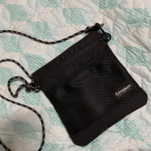 커버낫(COVERNAT) CORDURA SACOCHE BAG BLACK 후기