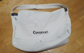 커버낫(COVERNAT) AUTHENTIC LOGO MAIL BAG IVORY 후기