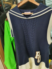 로라로라(ROLAROLA) (TS-18535) SAILOR RIBBON KNIT VEST IVORY 후기