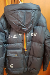 로맨틱크라운(ROMANTIC CROWN) ALL SET Goose Down Parka_Navy 후기