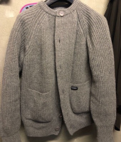 커버낫(COVERNAT) HEAVY GAUGE CARDIGAN BEIGE 후기