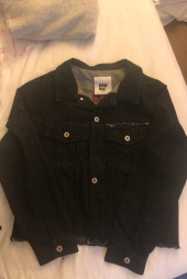 노앙(NOHANT) DENIM JACKET BLACK 후기