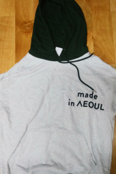 노앙(NOHANT) MADE IN SEOUL HOODIE ORANGE 후기
