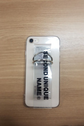 세컨드유니크네임(SECOND UNIQUE NAME) SUN CASE PVC CLEAR 후기