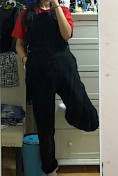 더스토리(THESTORI) COTTON OVERALL (BLACK) 후기