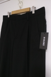 인사일런스(INSILENCE) WIDE SLACKS (black) 후기