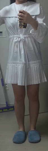 마가린핑거스(MARGARIN FINGERS) Pleats shirt dress 후기