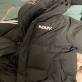 널디(NERDY) [NERDY] NY Track Long Down Jacket Purple 후기
