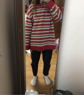 메인부스(MAINBOOTH) Jellybean Sweater(RED) 후기