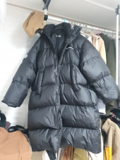 엘엠씨(LMC) LMC OVERSIZED LONG PUFFER COAT black 후기