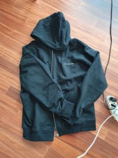 리플레이컨테이너(REPLAY CONTAINER) RC zip-up heavy hoody (black) 후기