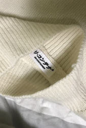 리플레이컨테이너(REPLAY CONTAINER) RC lambs wool half-pola knit (ivory) 후기