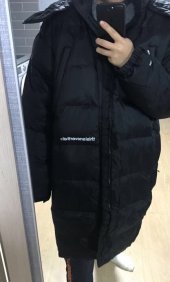 디스이즈네버댓(THISISNEVERTHAT) INTL. Logo CITY Down Parka Black 후기