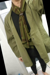 와일드 브릭스(WILD BRICKS) BDN SCARF (green) 후기