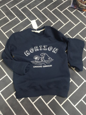 커먼가먼트(COMMONGARMENT) [750g] HORIZON SWEAT SHIRT -NAVY- 후기