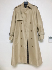 니나노사노(NINANOSANO) back box-pleats trenchcoat BEIGE 후기