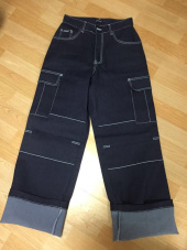 노이지컴퍼니(NOIZYCOMPANY) DENIM STICH PANTS (INDIGO) 후기
