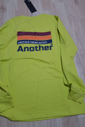 아토(ATO) FLAG TEE_(neon yellow) 후기