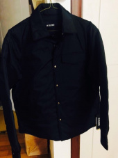 인사일런스(INSILENCE) LIGHT GOOSE DOWN SHIRT (black) 후기