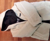 커버낫(COVERNAT) REVERSIBLE FLEECE WARM UP JACKET IV/BK 후기