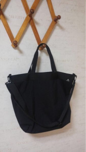 디얼스(THE EARTH) WASHED CORDURA 20L 2WAY TOTE&CROSS BAG - BLACK 후기