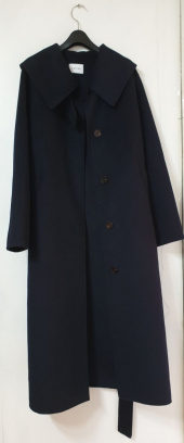 엽페(YUPPE) COLLAR HANDMADE COAT_NAVY 후기
