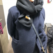 카멜워크(CAMEL WORK) Reversible Fleece Muffler(Black) 후기