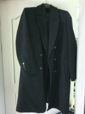 에이글로우(AGLOWW) [UNISEX] BASIC WOOL DOUBLE COAT BLACK 후기